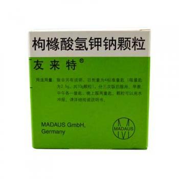友来特 枸橼酸氢钾钠颗粒 97.1g/100g 附试纸