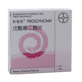 补佳乐 戊酸雌二醇片 1mg×21片 拜耳医药