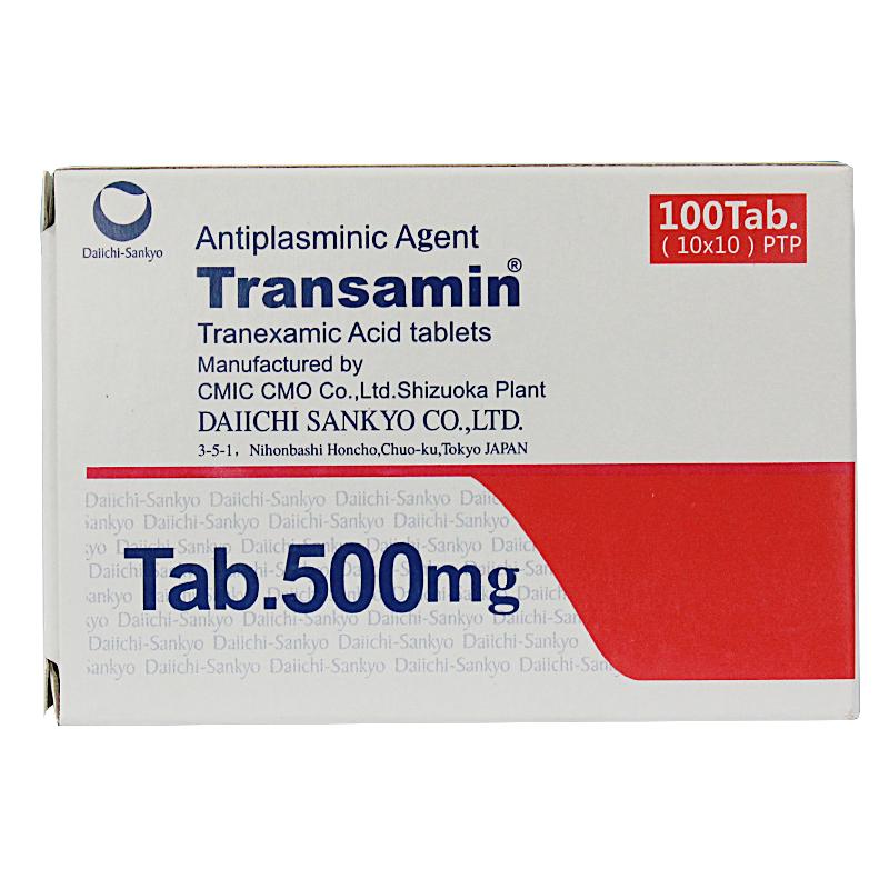 妥塞敏 氨甲环酸片  0.5g*100S