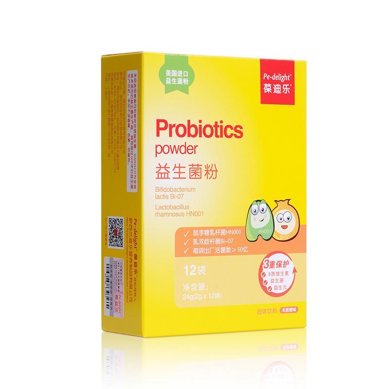 葆迪乐   益生菌粉   24g(2g*12袋)