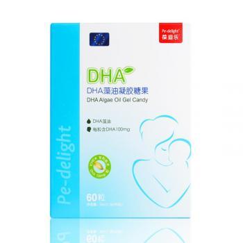 葆迪乐  DHA藻油凝胶糖果  30g(0.5g*60粒)