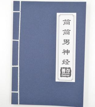 简简男神经线装笔记本