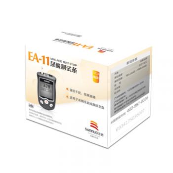 三诺 EA-11尿酸测试条 瓶装10S
